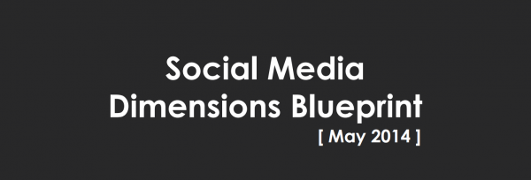 Social Media Blue Print