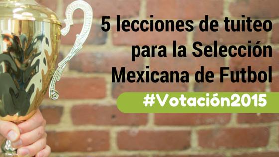 Lecciones Seleccion Mexicana Nomada